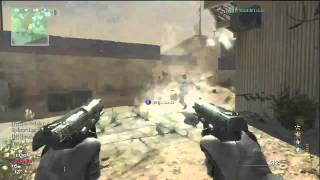 MW3 Infected moab Gameplay (Modern Warfare 3) Throwing knife vs Striker - Dome