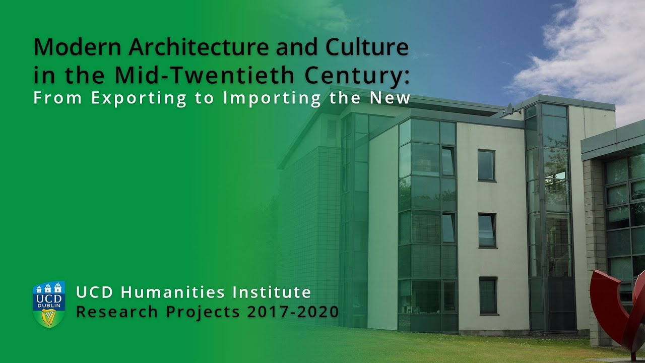 Modern Architecture and Culture in the Mid-Twentieth Century