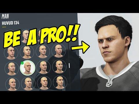 SKAPAR MIN GUBBE!! 😍 - NHL 18 Be A Pro på Svenska!