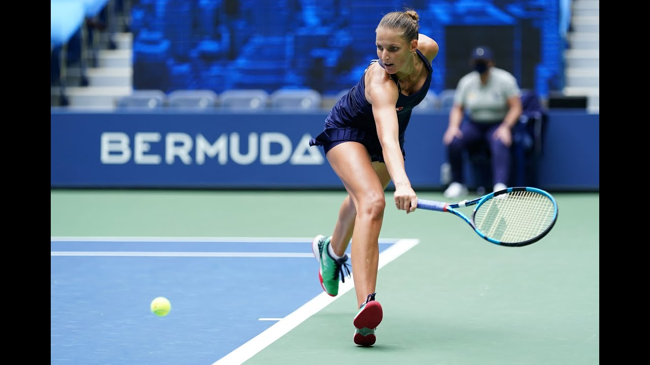 Karolina Pliskova   Top 10 points of US Open 2020