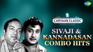 Carvaan Classic Radio Show | Sivaji & Kannadasan Combo Hits | Old Classic Tamil Songs
