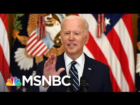 An 'Atrocity': Biden Blasts GOP Efforts To Block The Vote | The 11th Hour | MSNBC