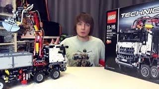 обзор Lego Technic / Лего Техник / Mercedes Benz Arocs - в продаже на TOY RU