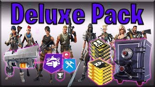 Fortnite PvE | BUYING Deluxe Edition: Benefits, weapons and ARMORY Slots!