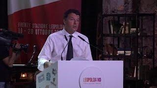 Leopolda 10, Renzi cita Aldo Moro e chiude sulle note di Tommaso Paradiso: