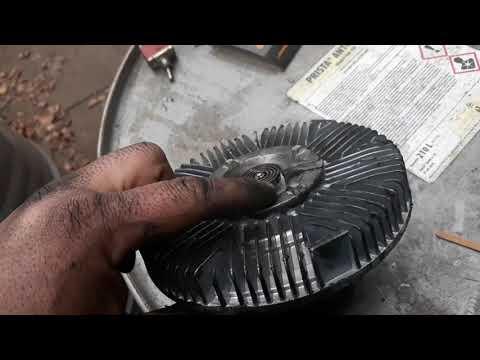 Ремонт вискомуфты вентилятора своими руками