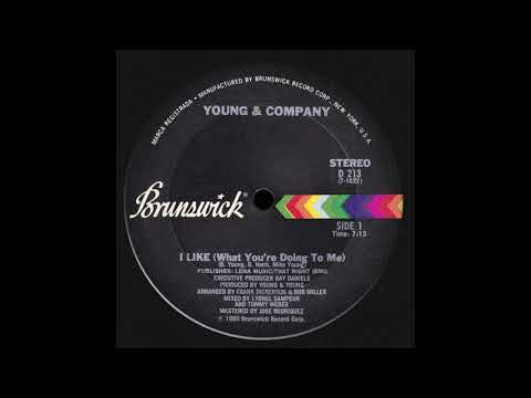 Young & Company - I Like (What You're Doing To Me)