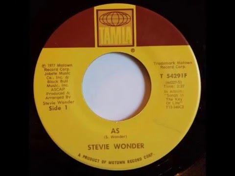 Stevie Wonder  As single version 1977