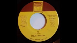 Stevie Wonder - As (single version) (1977)