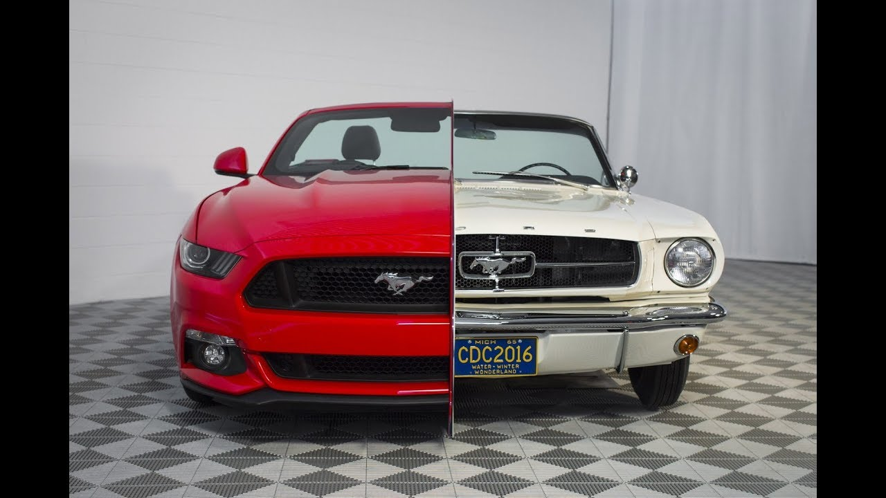 Ford Mustang From Generation To Generation