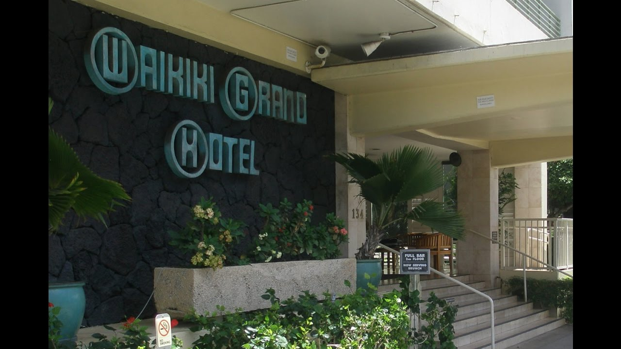 The Grand Waikiki Grand Hotel Youtube