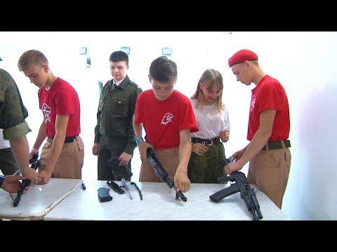 Образовательное занятие по сборке разборке автомата АК 74 на образовательной программе