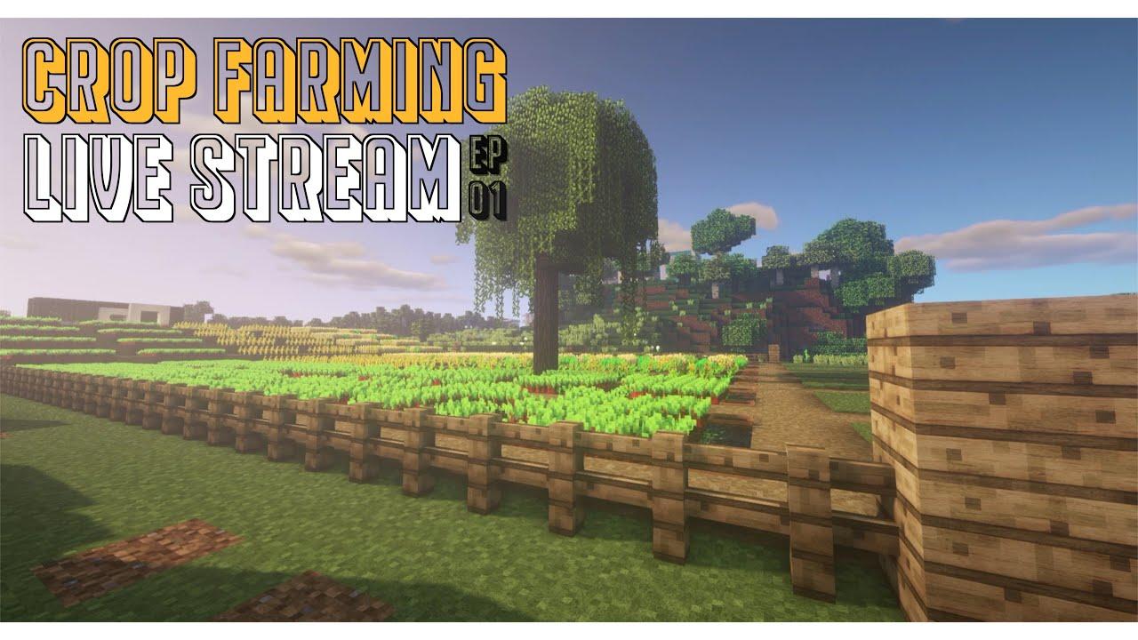Live Stream | Building a Farm | Episode 01