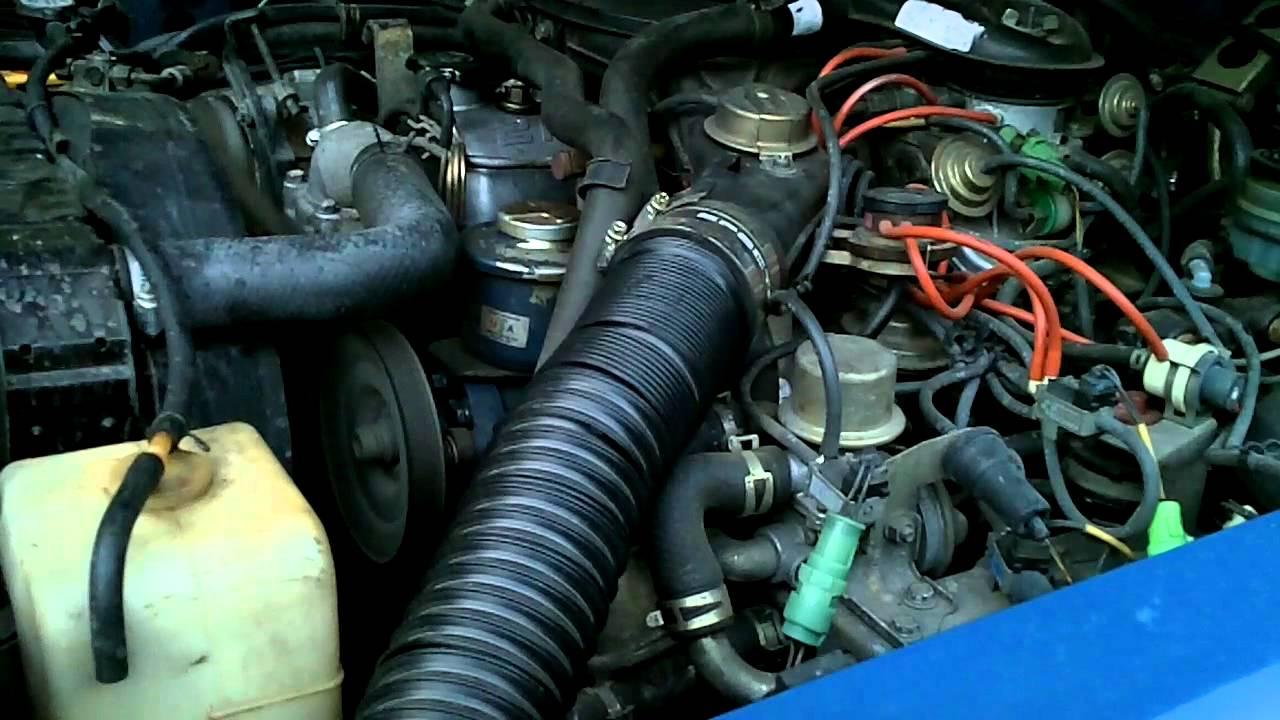 FJ60 2F after oil change