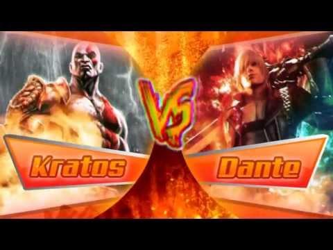 KRATOS VS DANTE  BATALLA DE HEROES  Zarcort Ft Piter-G