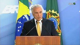 """Temer interviene Río de Janeiro con las fuerzas armadas contra la """"metástasis"""" de la inseguridad"""