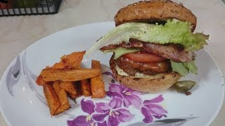 Delicious HomeMade Beef Burgers