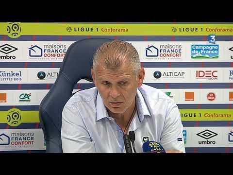 Réaction de Patrice Garande, entraîneur de SM Caen