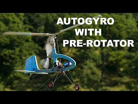 RC Autogyro with pre-rotator new HD video - YouTube
