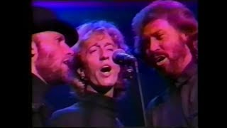 Bee Gees - Medley - Live in London 1989 + Interview (MTV Japan)