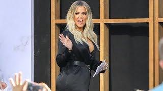 Pregnant Khloe Kardashian Showing Off New Curves