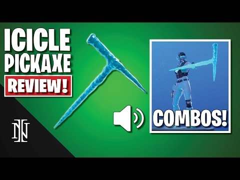ICICLE Pickaxe Review In Fortnite | COMBOS