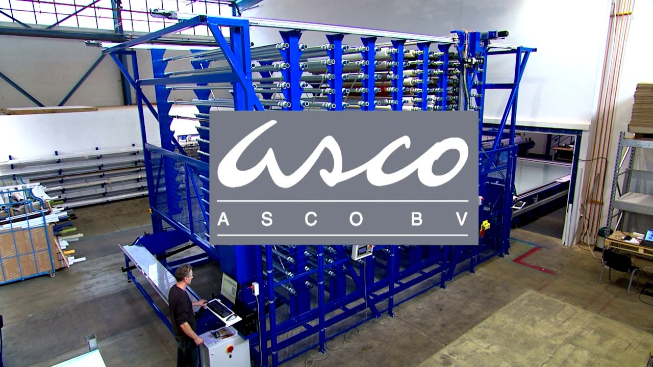 ASCO RS Fully Automatic Roll Storage
