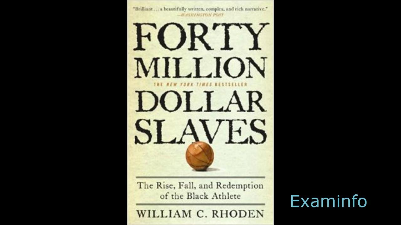 William C Rhoden 40 Million Dollar Pt1 Introaudiobk