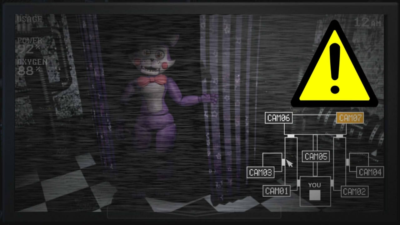 Candy In Sister Location Fnaf Sl Youtube