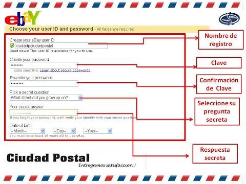 Como registrar tu dirección de envío para hacer tus compras en ebay 2017 bien FACIL