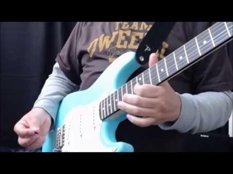 $50 partscaster DIY kit guitar, TONE exploration. Digitech RP350 processor