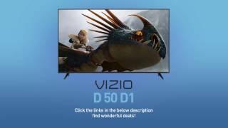 "All-New 2016 VIZIO D50-D1 D-Series 50"" Class Full‑Array LED Smart TV // Full Specs Review  #VIZIO"