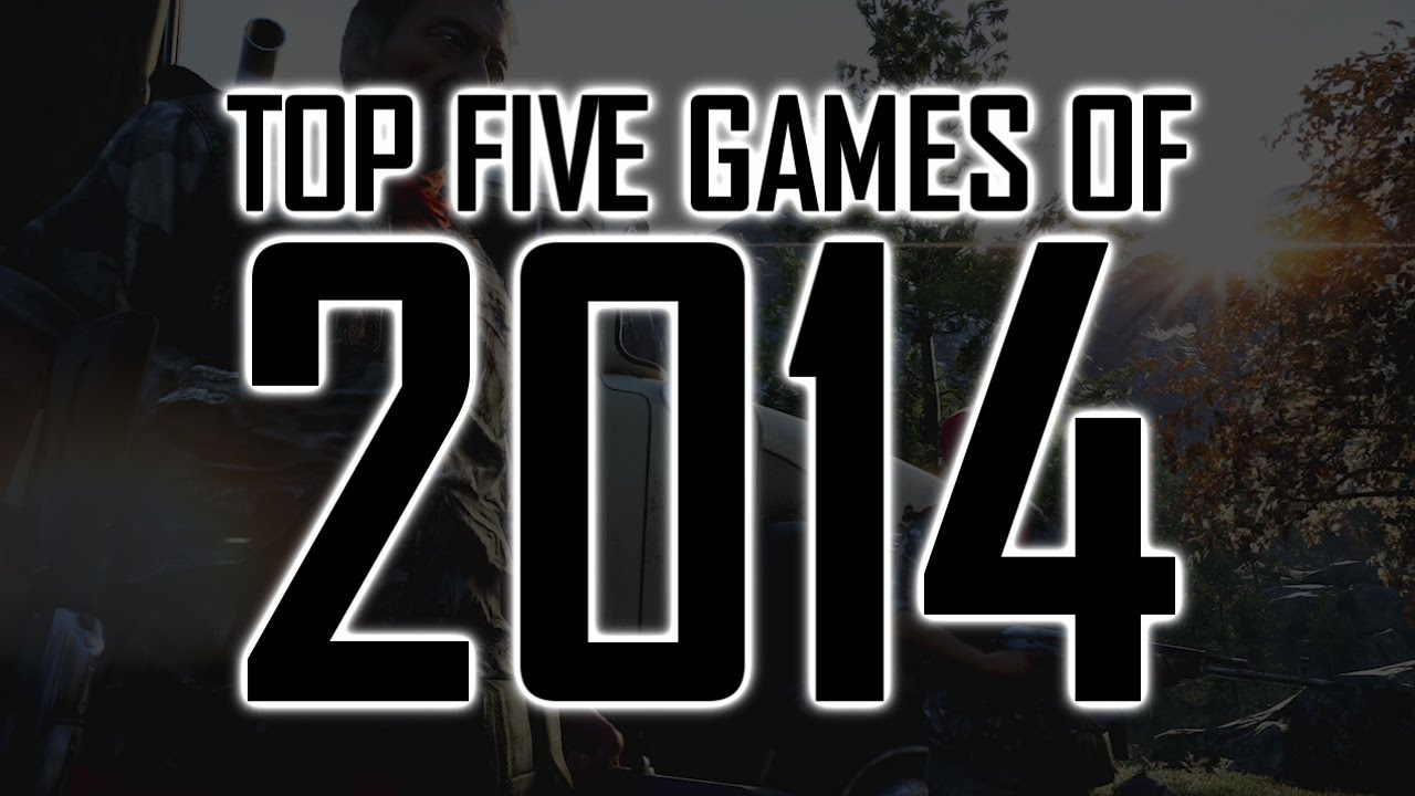 Top 5 games of 2014