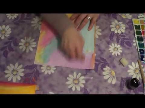 Нетрадиционные техники рисования Монотипия