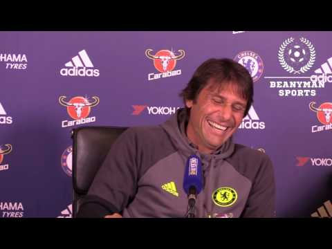 The Hilarious Way That Antonio Conte Describes Cesc Fabregas' Injury