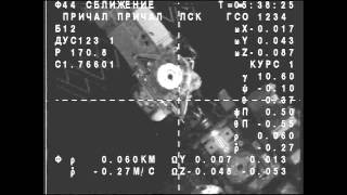 Expedition 44 Crew Docks To The International Space Station