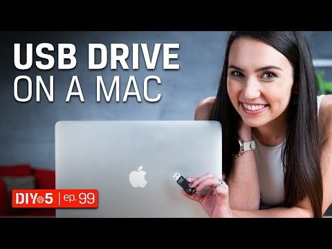 Mac Tips - Using a USB drive on a Mac – DIY in 5 Ep 99