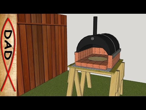 DIY Backyard Wood Fired Brick Pizza Oven