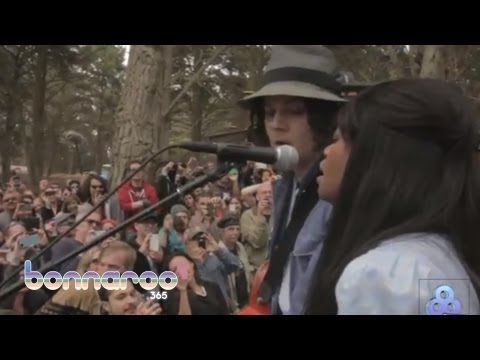 "Jack White Surprise Set - ""Love Interruption"" - Outside Lands 2012 (Official Video)   Bonnaroo365"