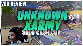 [VOD REVIEW] UnknownxArmy 1st Place Cash Cup - Angles, Controller Aim-Assist, Pre-Aim, Movement