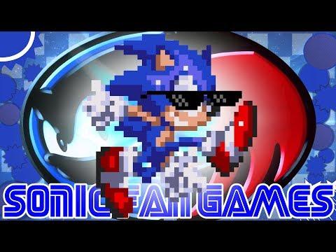 SONIC & KNUCKLES - A CONTINUAÇÃO COM O COOLER SONIC   Sonic Fan Games #42