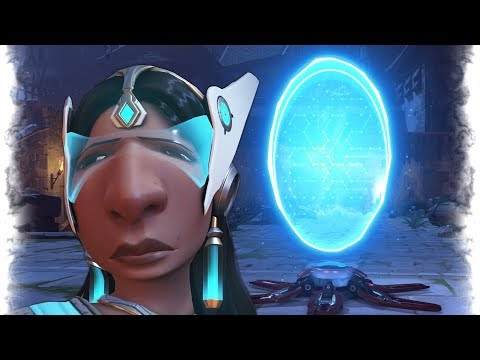 Symmetra SAD GLITCH.. | Overwatch Best and Funny Moments - Ep.232