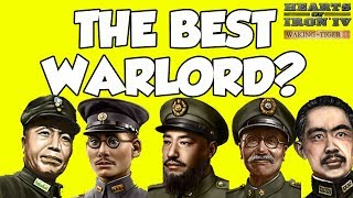 Hearts of Iron 4 HOI4 Waking The Tiger Warlord Wins China Challenge (The Best Warlord)