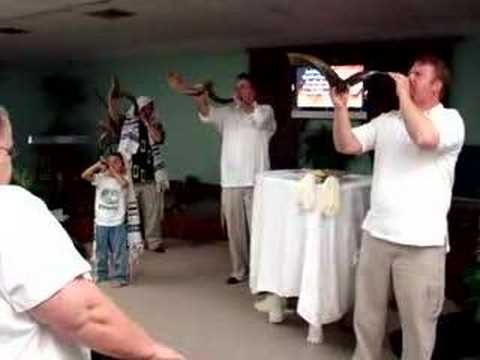 Shofar Blowing on Yom Kippur