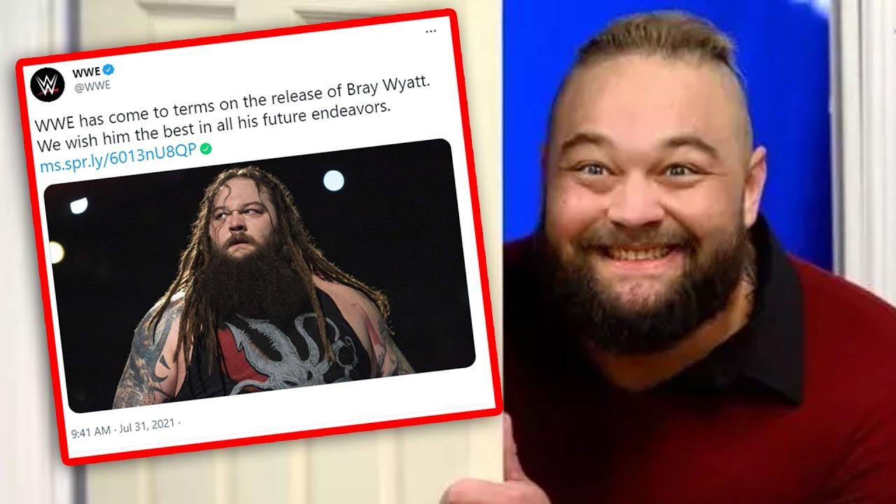 Bray Wyatt Released By WWE