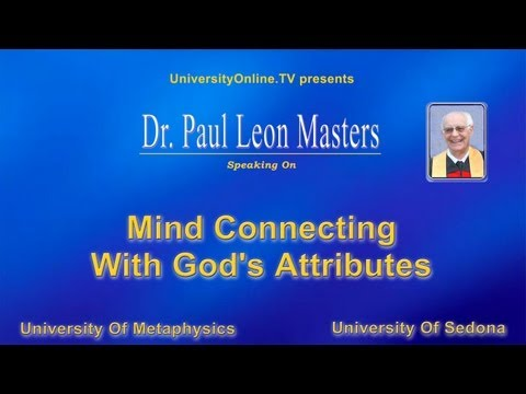 MIND CONNECTING WITH GODS ATTRIBUTES