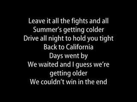 Клип Sugarcult - Back to California