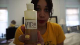 30 Day Hair Challenge: Vida Hair Growth Products ( how i gained an inch of hair in two weeks)