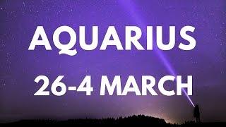 Aquarius Shock This Week! 26 February-4 March 2018 Weekly Tarot Reading