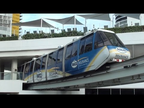 The Gold Coast Broadbeach Monorail